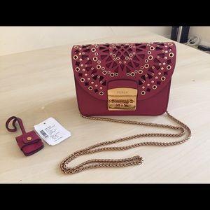 Furla mini metropolis crossbody purse